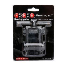 666A035 FORCE Monteringsverktygssats, hjulnav / hjullager 666A035 köp lågt pris