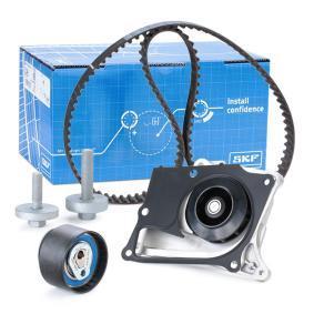 Wasserpumpe + Zahnriemensatz SKF VKMC 06134-3 kaufen und wechseln