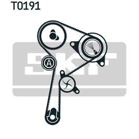 Wasserpumpe + Zahnriemensatz VKMC 06134-3 von SKF