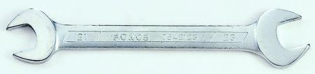 7540607 FORCE Long.: 123mm, Ancho llave: 6x7 mm Llave de dos bocas 7540607 a buen precio