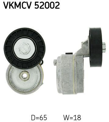 SKF Tensioner Pulley, v-ribbed belt for IVECO - item number: VKMCV 52002