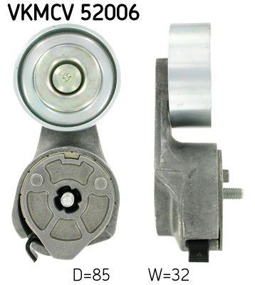 SKF Tensioner Pulley, v-ribbed belt for IVECO - item number: VKMCV 52006