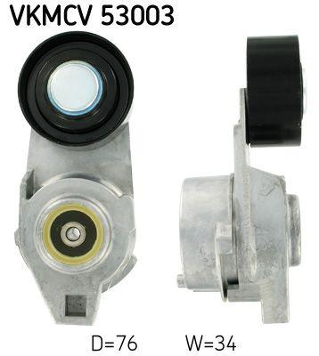 SKF Rolka napinacza, pasek klinowy wielorowkowy do VOLVO - numer produktu: VKMCV 53003