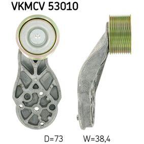 SKF Medløberhjul, multi-V-rem VKMCV 53010 - køb med 31% rabat