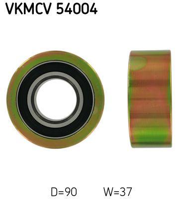 SKF Rolka kierunkowa / prowadząca, pasek klinowy zębaty do RENAULT TRUCKS - numer produktu: VKMCV 54004