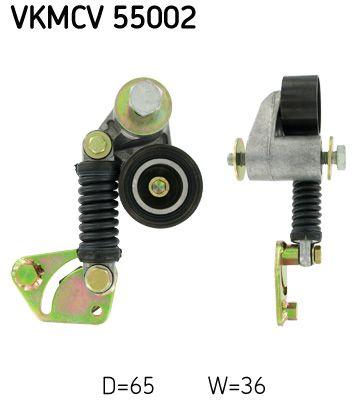 SKF Rolka napinacza, pasek klinowy wielorowkowy do MAN - numer produktu: VKMCV 55002