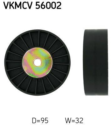 Poulie renvoi / transmission, courroie trapézoïdale à nervures SKF VKMCV 56002 : achetez à prix raisonnables