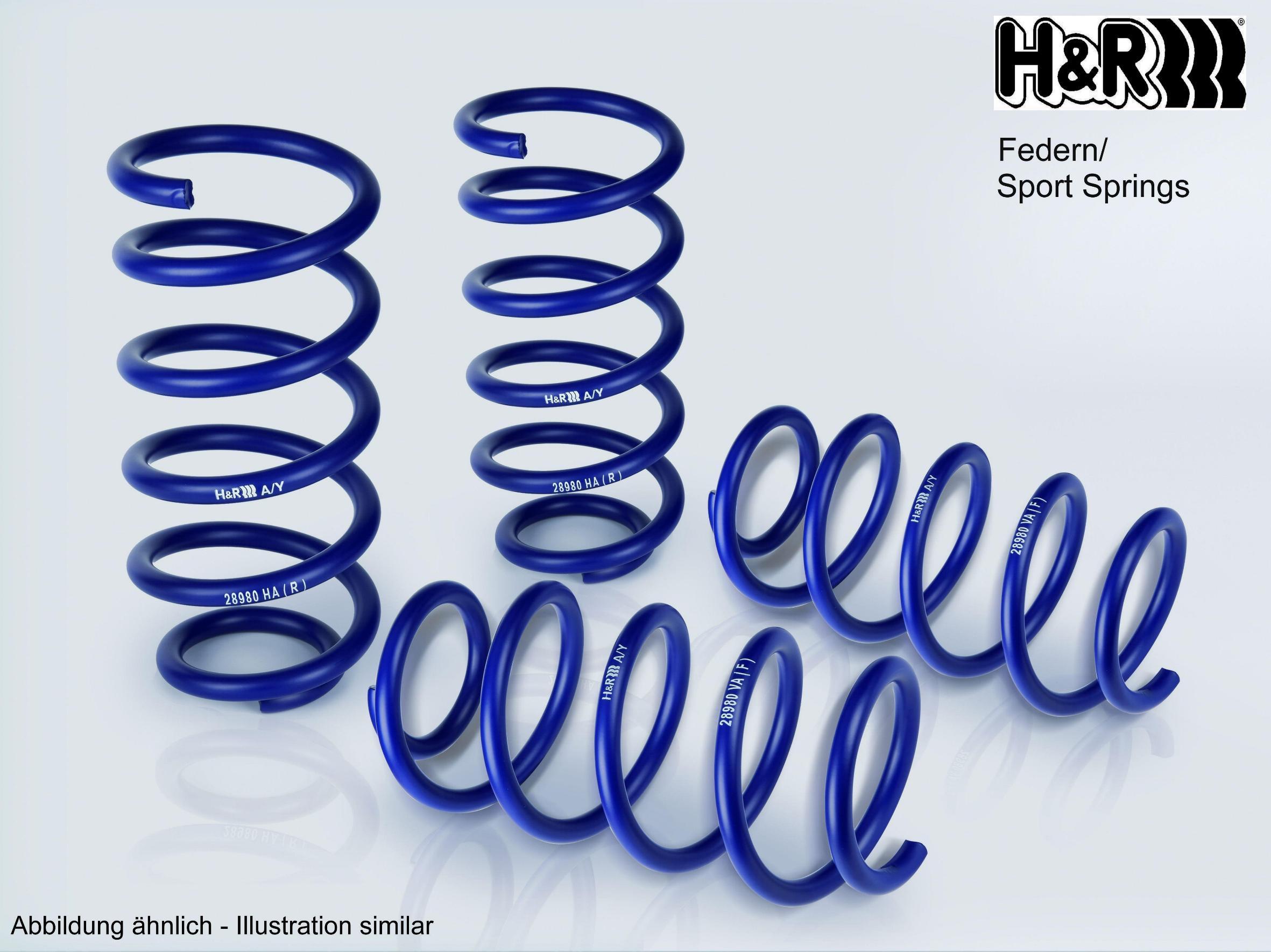 H&R | Fahrwerksatz, Federn 29046-1