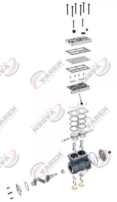 1300180001 Kompressor Luftfederung VADEN online kaufen