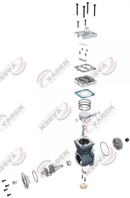 1100045001 Kompressor Luftfederung VADEN online kaufen