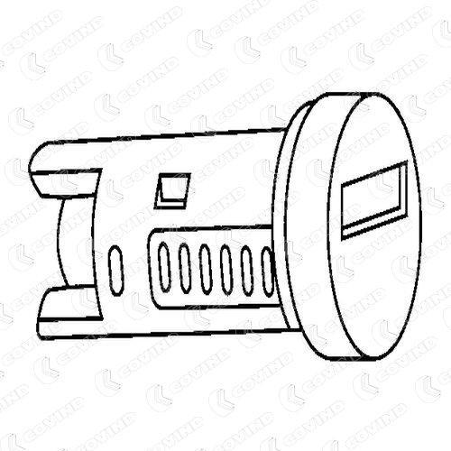 Lås cylinder C39/191 COVIND — bara nya delar
