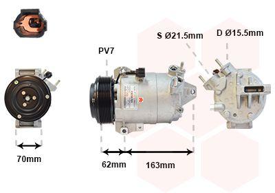 Original JAGUAR Kompressor Klimaanlage 3301K701
