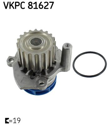 Buy Water pump SKF VKPC 81627