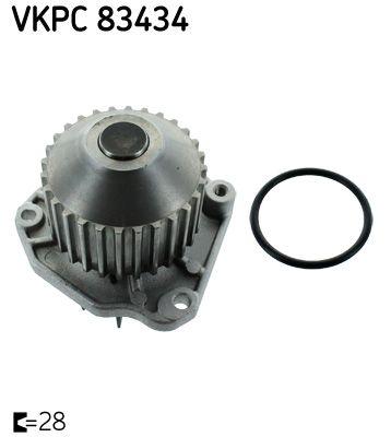 VKPC 83434 SKF Zähnez.: 28, für Zahnriementrieb Wasserpumpe VKPC 83434 günstig kaufen