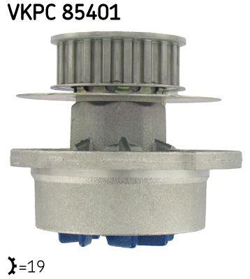 SKF Wasserpumpe VKPC 85401