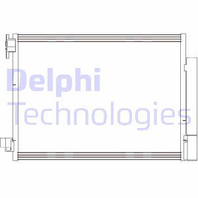 RENAULT TWINGO 2014 Klimakühler - Original DELPHI CF20415