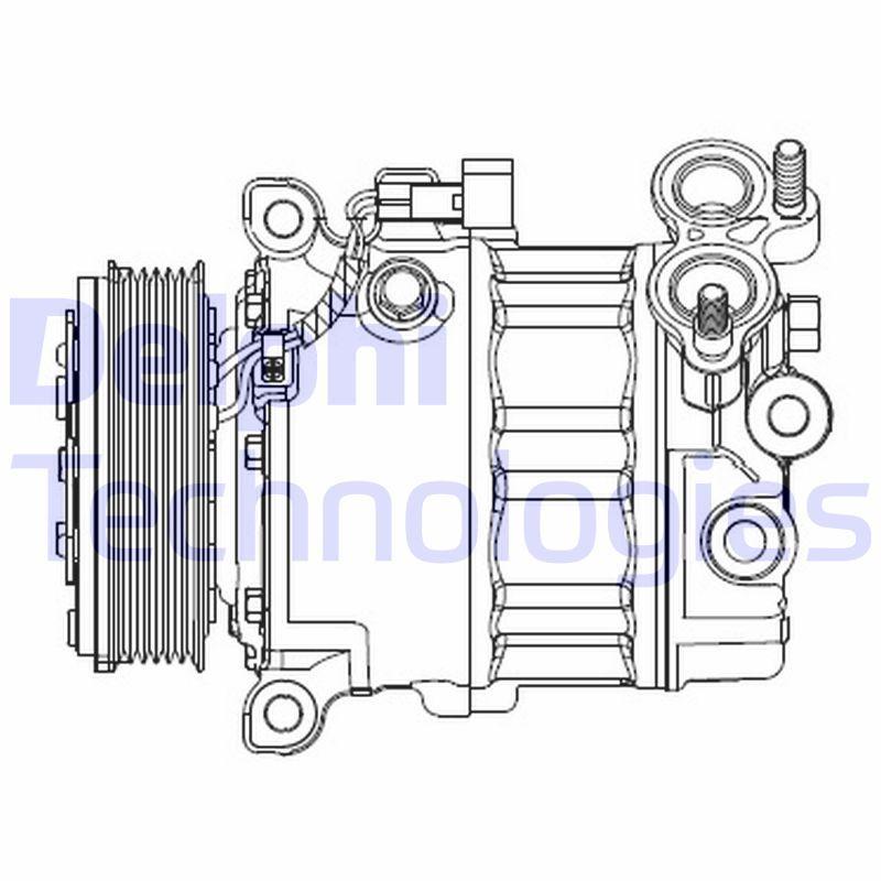 DELPHI Klimakompressor CS20512