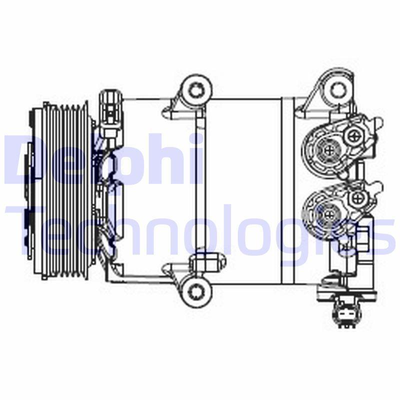 Kompressor DELPHI CS20553
