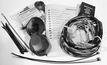 300072300113 WESTFALIA no se requiere habilitación Juego eléctrico, enganche de remolque 300072300113 a buen precio