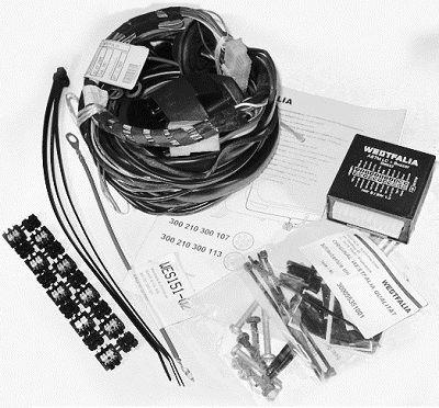 Kit de montaje del enganche del remolque 300210300113 con buena relación WESTFALIA calidad-precio