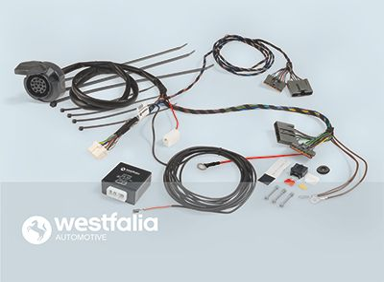 Elektrosatz, Anhängevorrichtung 303460300113 von WESTFALIA
