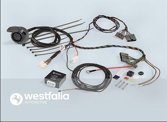 304402300113 WESTFALIA Juego eléctrico, enganche de remolque 304402300113 a buen precio