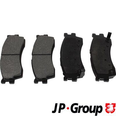 JP GROUP Bremsbelagsatz, Scheibenbremse 3663600510
