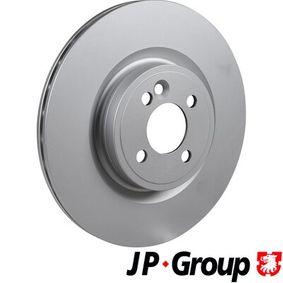 6063100800 JP GROUP Vorderachse, Innenbelüftet, beschichtet Ø: 316mm, Lochanzahl: 4, Bremsscheibendicke: 22mm Bremsscheibe 6063100800 günstig kaufen