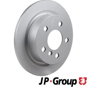 6063200200 JP GROUP Hinterachse, Voll, beschichtet Ø: 259mm, Lochanzahl: 5, Bremsscheibendicke: 10mm Bremsscheibe 6063200200 günstig kaufen