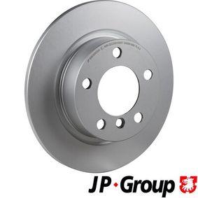 6063200300 JP GROUP Hinterachse, Voll, beschichtet Ø: 280mm, Lochanzahl: 5, Bremsscheibendicke: 10mm Bremsscheibe 6063200300 günstig kaufen