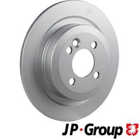 6063200400 JP GROUP Hinterachse, Voll, beschichtet Ø: 280mm, Lochanzahl: 4, Bremsscheibendicke: 10mm Bremsscheibe 6063200400 günstig kaufen