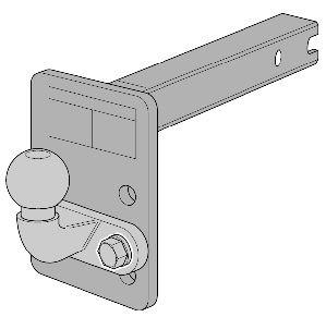 323063600001 WESTFALIA Anschraubplatte, Anhängevorrichtung 323063600001 günstig kaufen