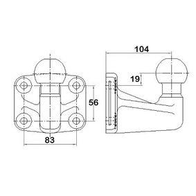 Comprar y reemplazar Panel de atornillamiento, enganche de remolque WESTFALIA 329059600001