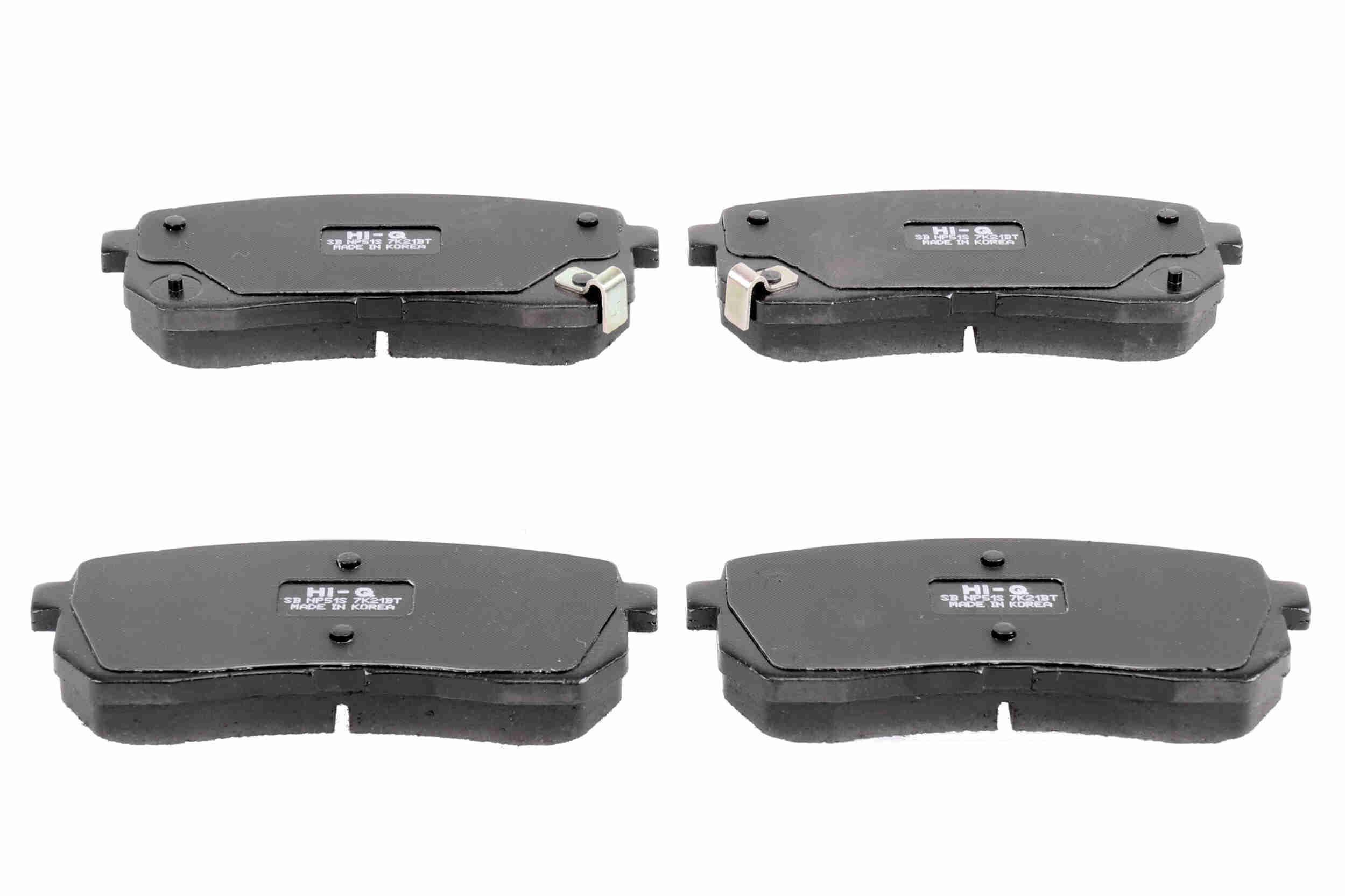 Bremsbelagsatz ACKOJA A52-0145