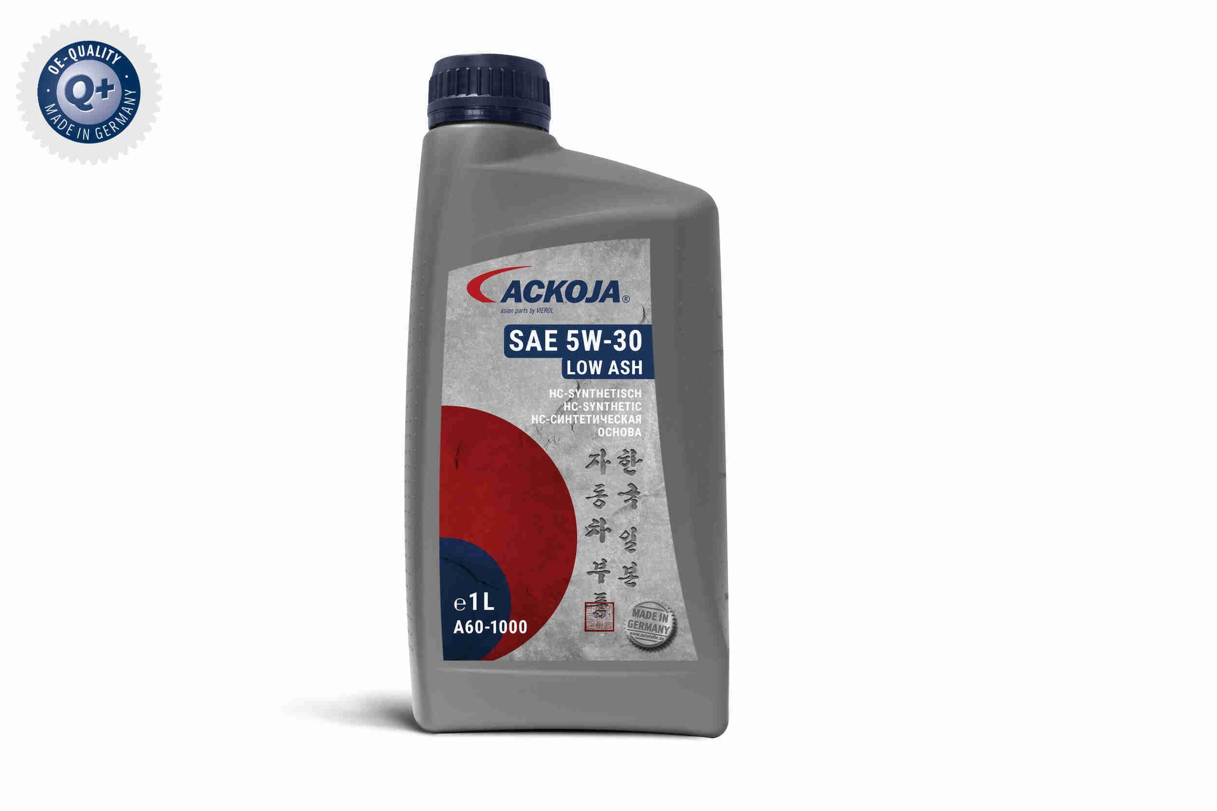 OpelGMDexos2TM ACKOJA LOW ASH 5W-30, Inhalt: 1l Motoröl A60-1000 günstig kaufen