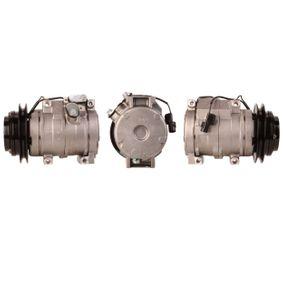 ACP533 LUCAS Kältemittel: R 134a, mit Dichtungen Riemenscheiben-Ø: 130,0mm, Anzahl der Rillen: 1 Kompressor, Klimaanlage ACP533 günstig kaufen
