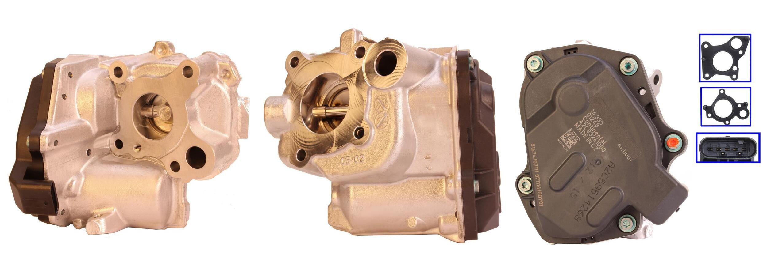 LUCAS: Original AGR Ventil LEV0291 (Anschlussanzahl: 4)