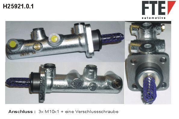Origine Système de freinage FTE H25921.0.1 ()