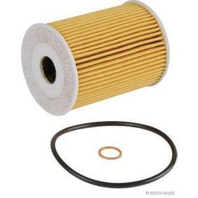 J1310904 HERTH+BUSS JAKOPARTS Filtereinsatz Innendurchmesser: 25mm, Ø: 64mm Ölfilter J1310904 günstig kaufen
