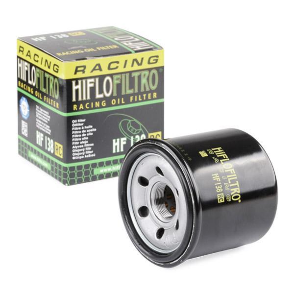 Alyvos filtras HF138RC HifloFiltro — tik naujos dalys