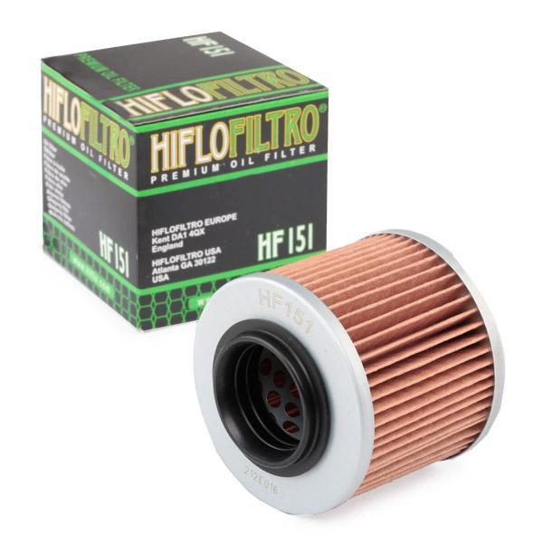 HifloFiltro Oljefilter Filterinsats HF151 BMW
