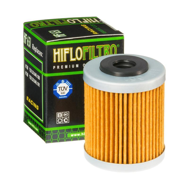 HifloFiltro Filtr oleju Wkład filtra HF651 KTM