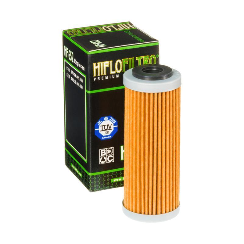 Alyvos filtras HF652 HifloFiltro — tik naujos dalys