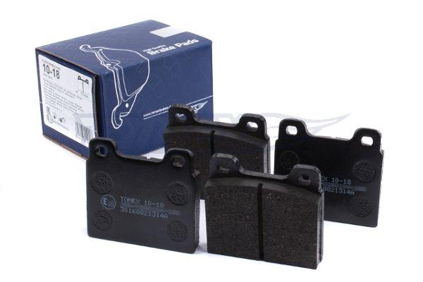 TOMEX brakes   Bremsbelagsatz, Scheibenbremse TX 10-18