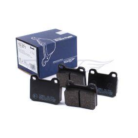 TX10-371 Bromsbeläggssats, skivbroms TOMEX brakes - Upplev rabatterade priser