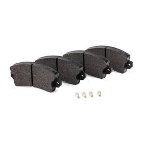 TX 10-43 Bremsbelagsatz, Scheibenbremse TOMEX brakes - Markenprodukte billig