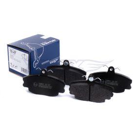 20772 TOMEX brakes Vorderachse Höhe: 63,5mm, Dicke/Stärke: 18mm Bremsbelagsatz, Scheibenbremse TX 10-47 günstig kaufen