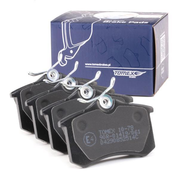 TX1078 Bremsbeläge TOMEX brakes 20961 - Große Auswahl - stark reduziert