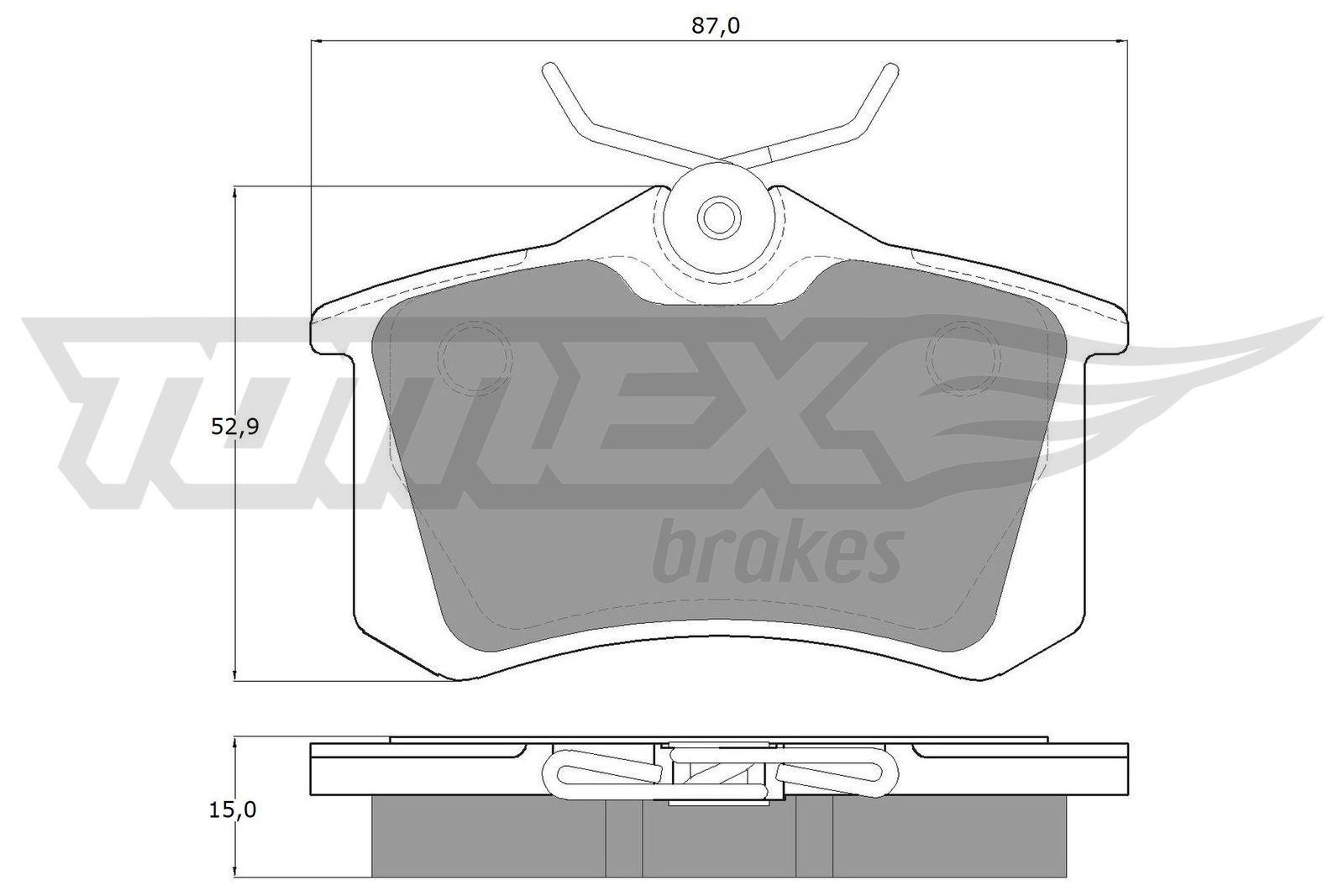 TX10-78 Bremsklötze TOMEX brakes Erfahrung