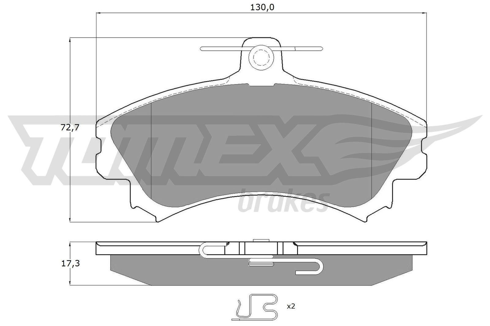 Original SMART Bremsklötze TX 11-521
